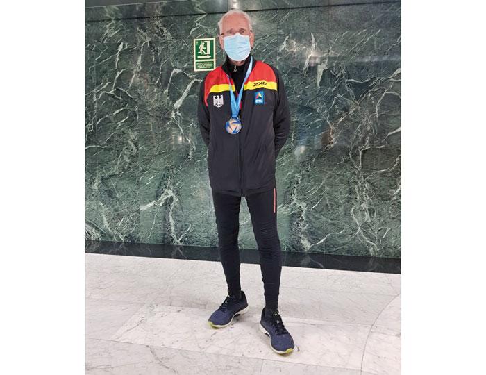 Günter Birnbaum läuft noch Marathons