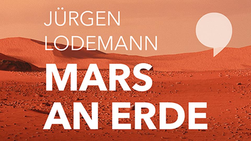 Ausschnitt von Buchcover Mars an Erde