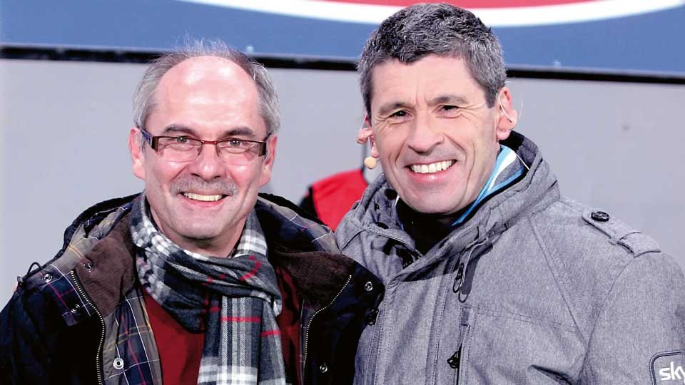 Michael Federer und Markus Merk