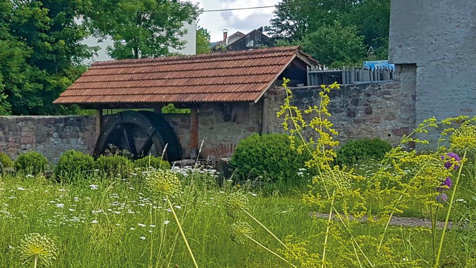 Mühlbachrad Mundingermühle