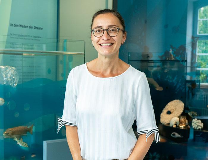 Silke Stoll Direktorin Museum  Natur und Mensch Freiburg