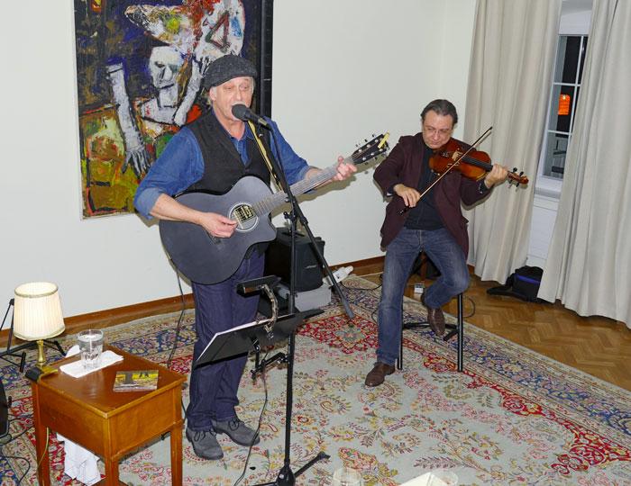 Musiker Auftritt