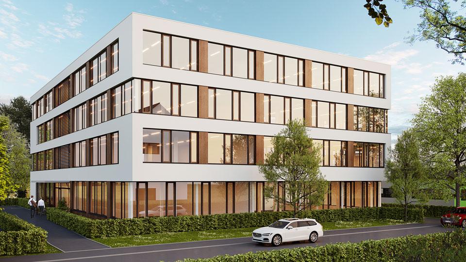 Neubau an der Oltmannstraße