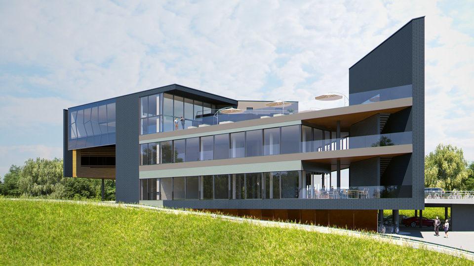 Visualisierung des Gebäudes
