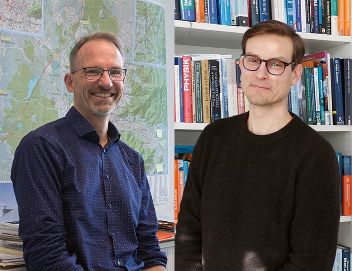 Klaus von Zahn und Dirk Schindler