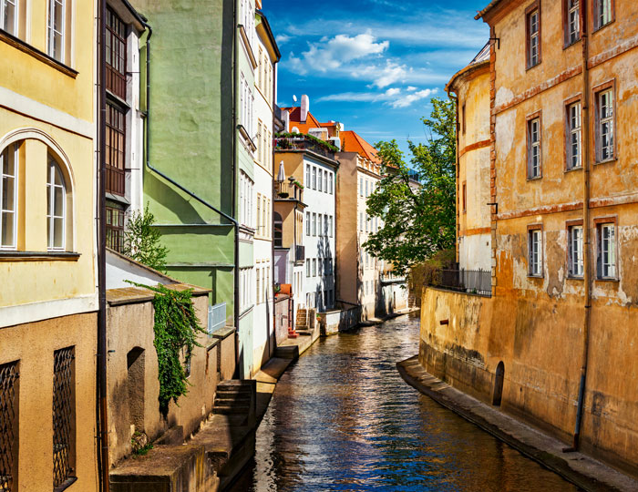 Prag klein Venedig