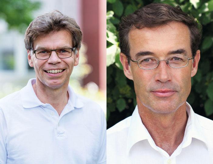 Prof. Dr. Dirk Watermann und Dr.-Dieter Semsek