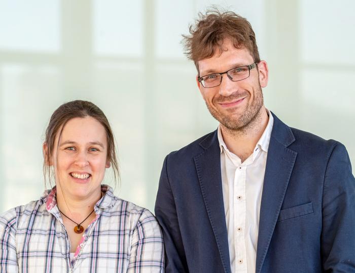 Jennifer Andexer und Heiko Winter