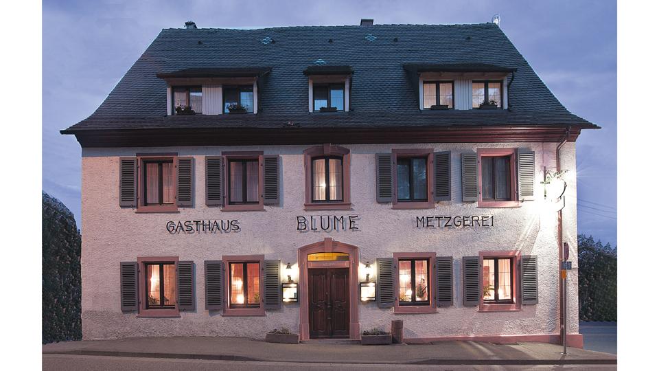 Restaurant Blume in Freiburg