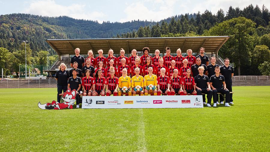 SC Frauen Gruppenbild