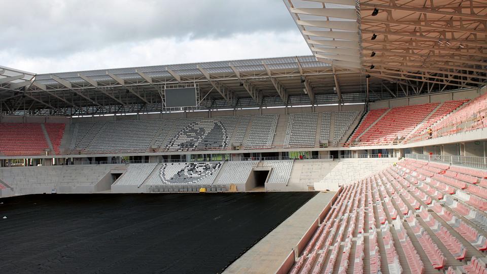 neues SC Stadion in Freiburg