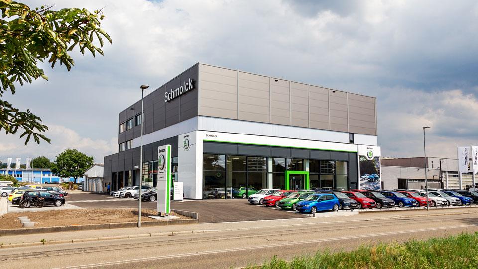 SKODA Neubau Emmendingen
