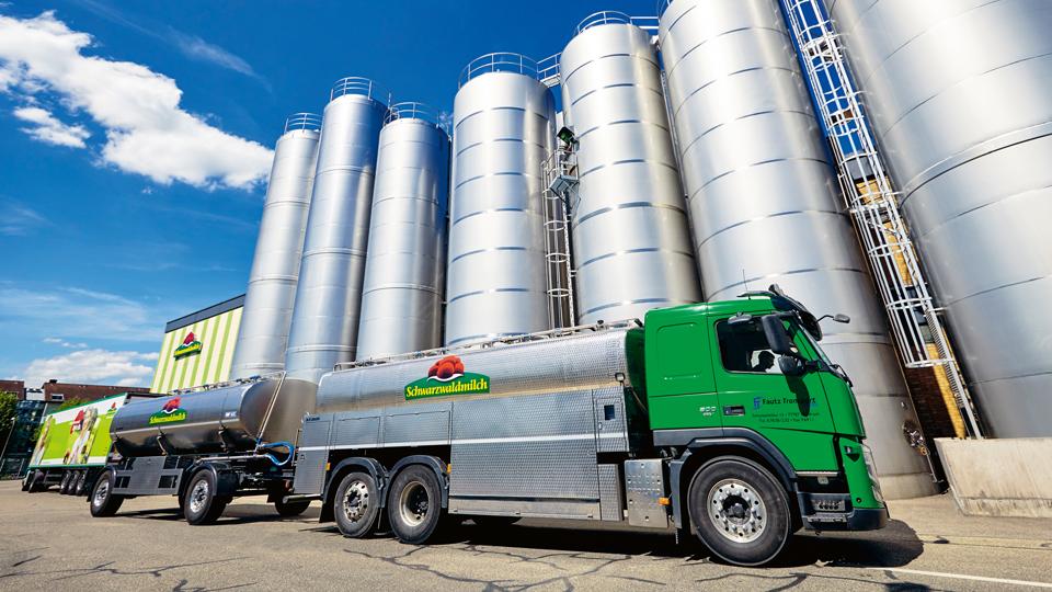Schwarzwaldmilch Transporter