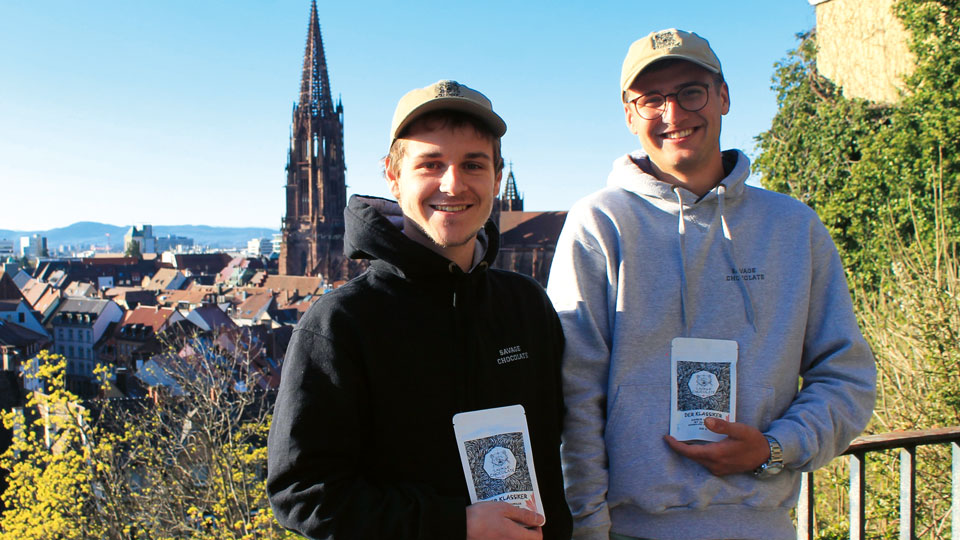 Savage Chocolate Gründer aus Freiburg