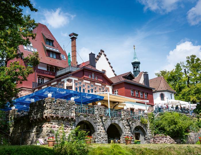 Schlosscafe in Freiburg