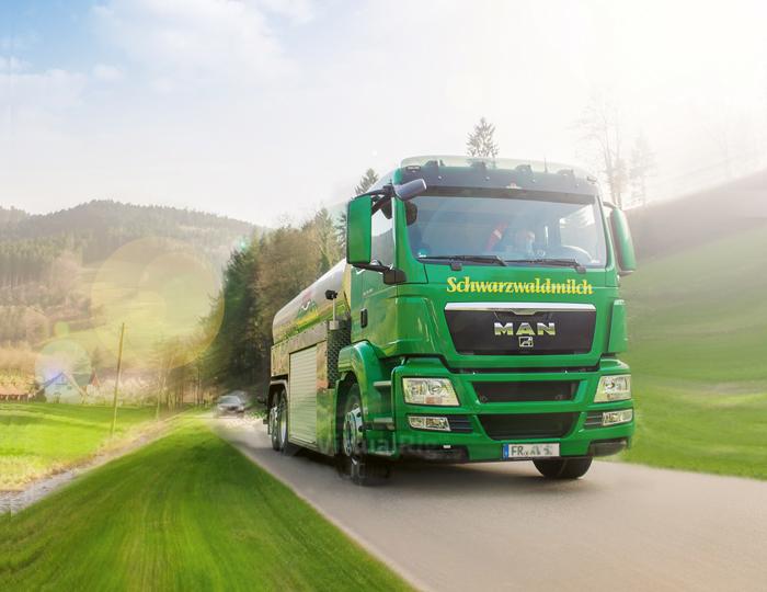 Schwarzwaldmilchfahrzeug
