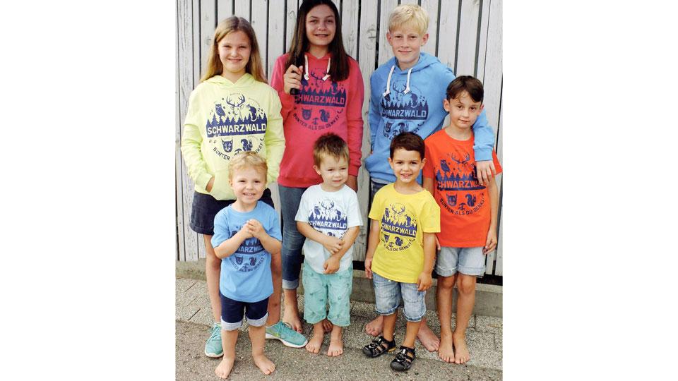Schwarzwaldshirts Kinder