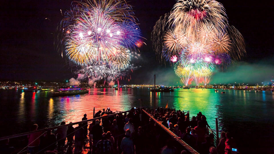 Seenachtfest Konstanz Feuerwerk