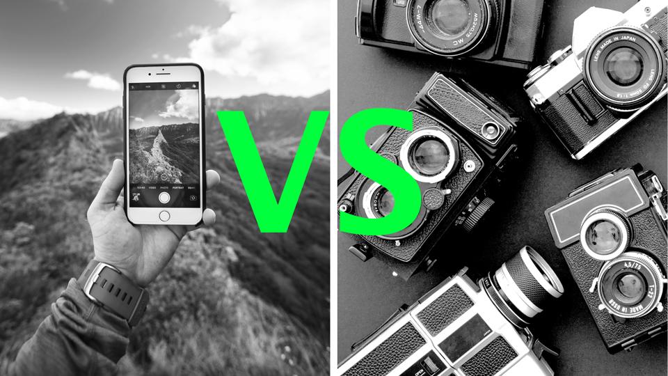 Smartphone vs Kamera