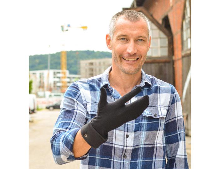Start-Up Erfinder Handschuhe