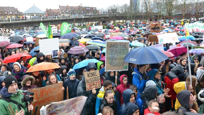 Machen Druck aufs Rathaus: Fridays for Future in Freiburg