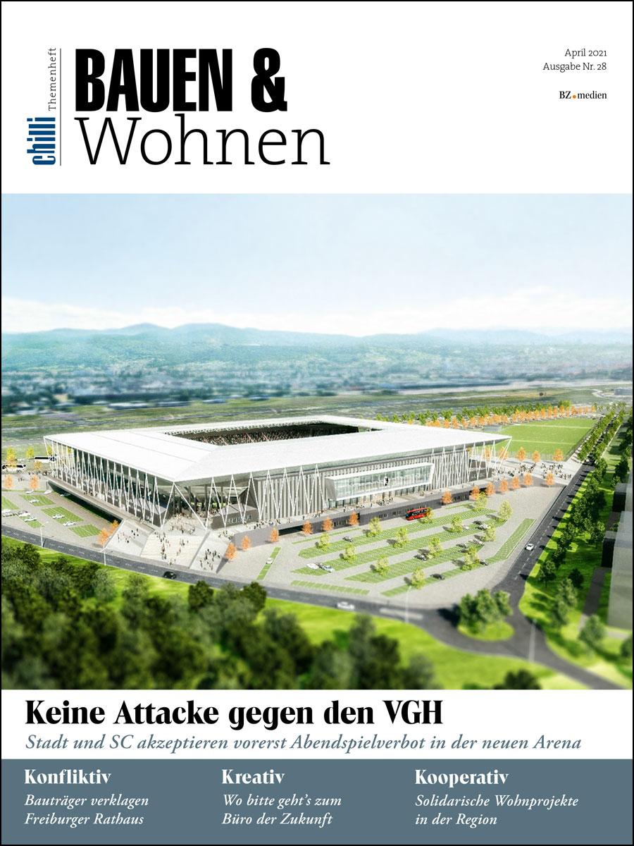 Themenheft Bauen und Wohnen 0421 cover