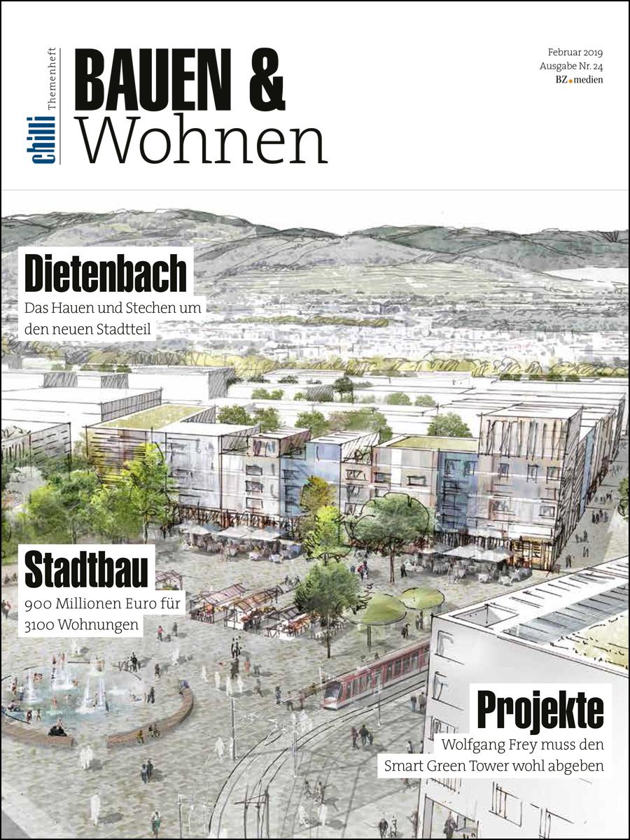 Cover Bauen und Wohnen