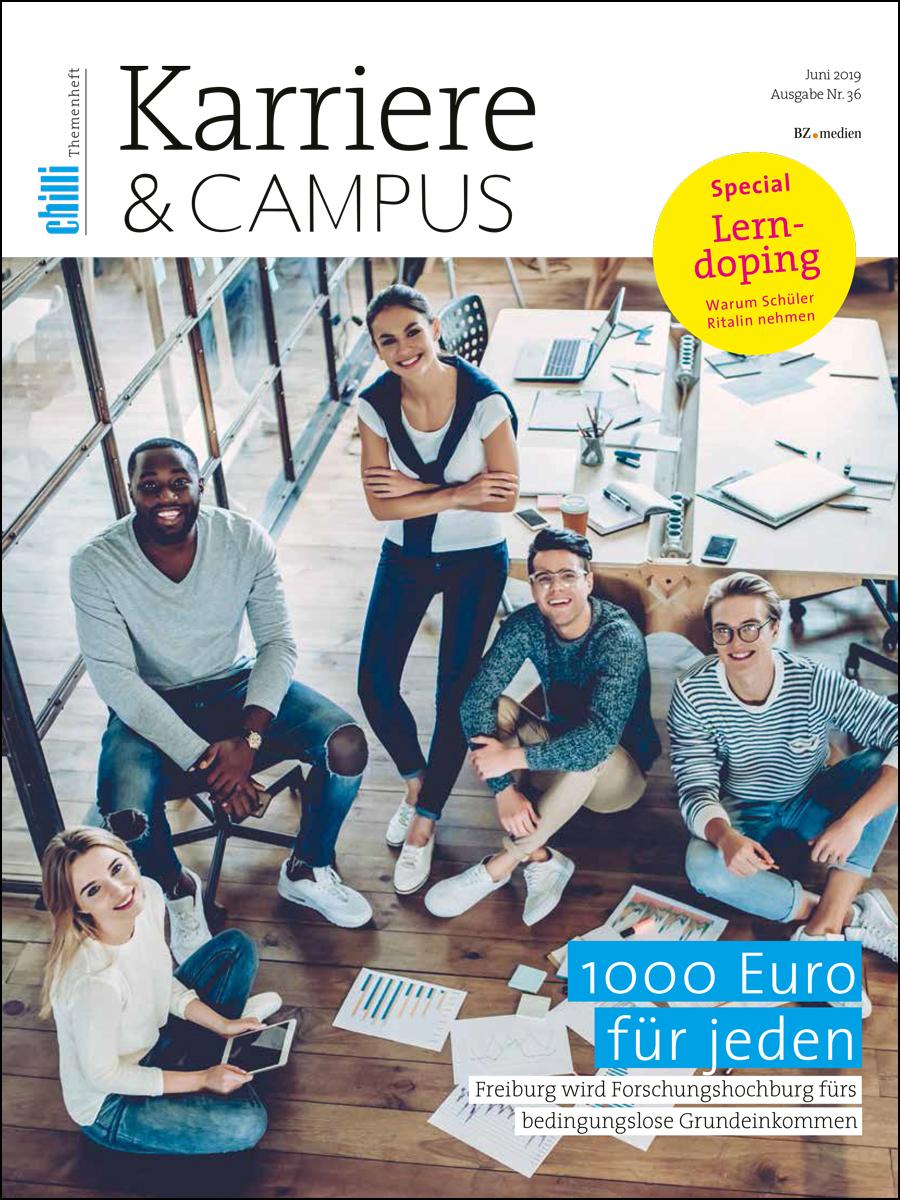 Themenheft Karriere und Campus Cover 0619