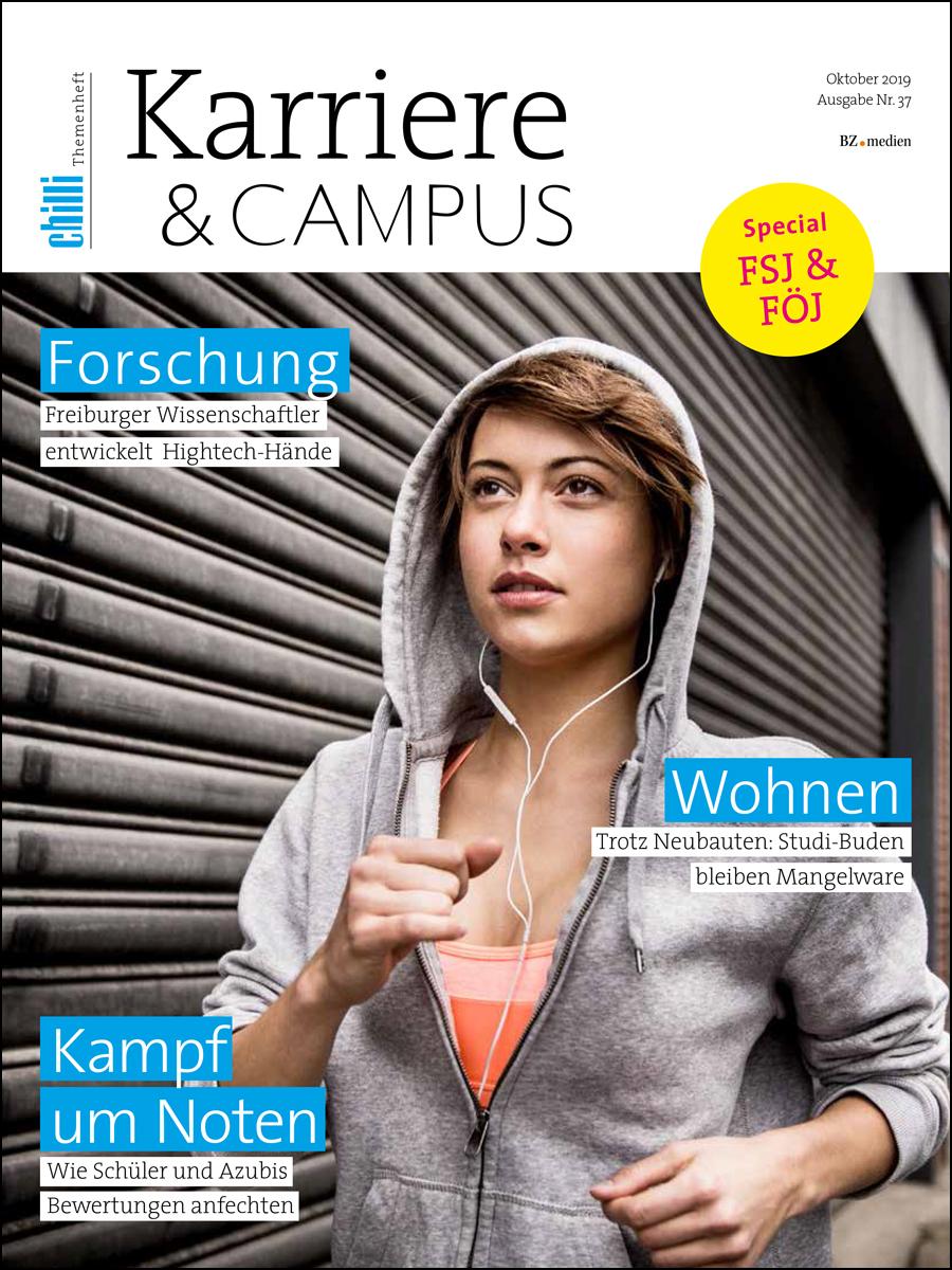 Karriere und Campus Ausgabe Oktober 2019