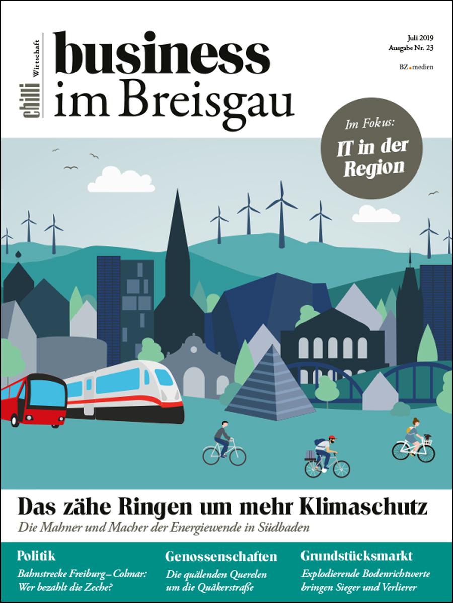 business im Breisgau Magazin cover