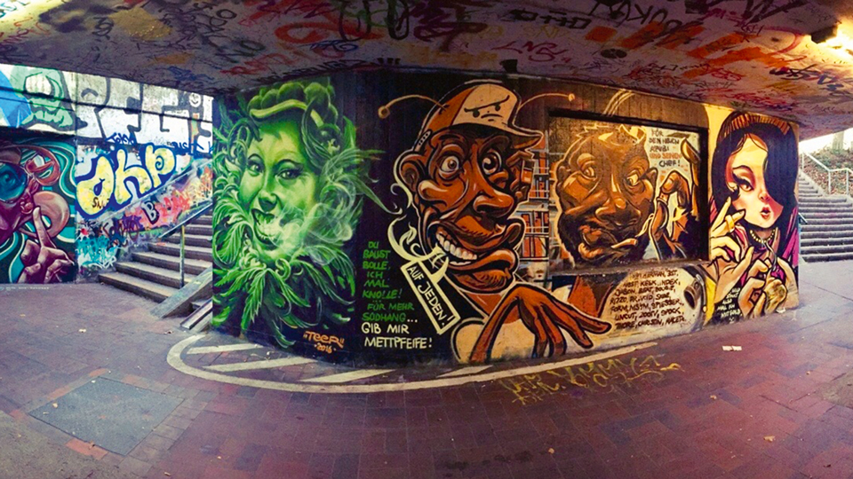 Graffiti in Freiburg