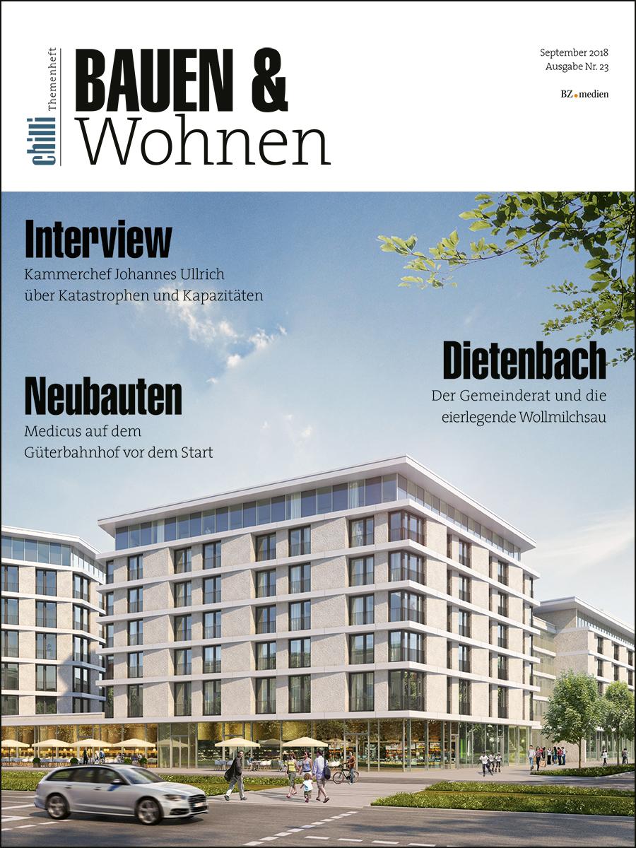 Magazin-Cover Bauen & Wohnen