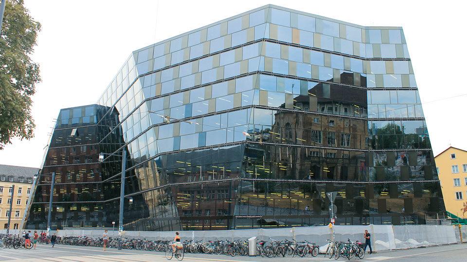 Uni Bibliothek in Freiburg