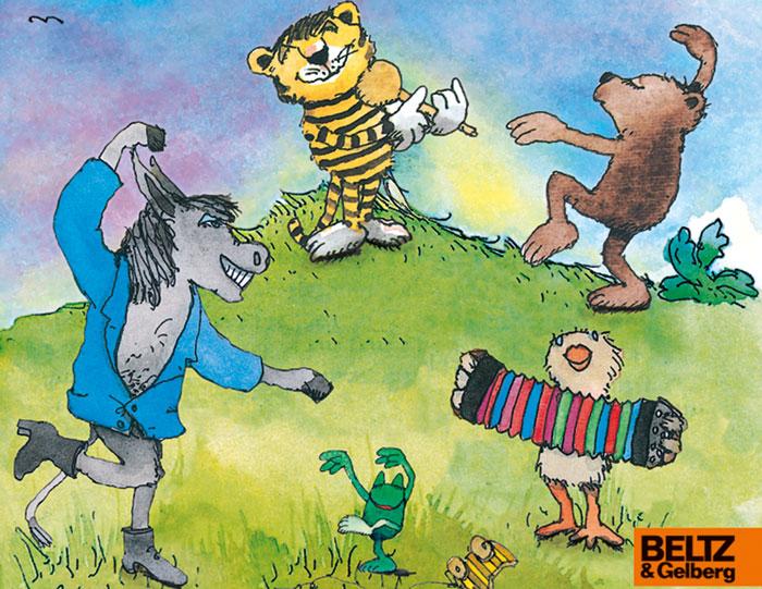 Ausschnitt von dem Buchcover: Riesenparty für den Tiger