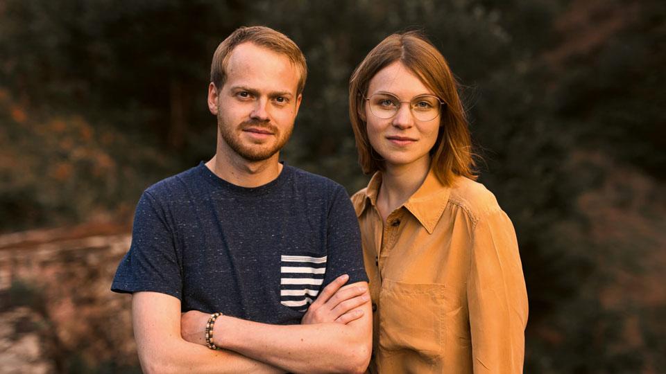 Felix Birsner und Julia Lauber