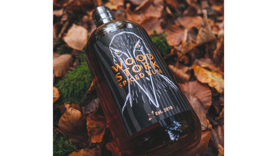 Rum Wood-Stork Gertelbacher Wasserfall