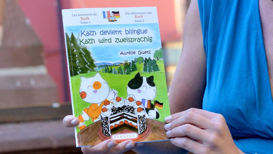 Zweisprachige Katzen Buchcover