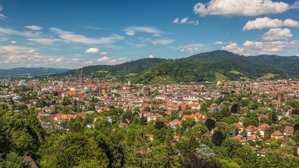 Luftbild Freiburg