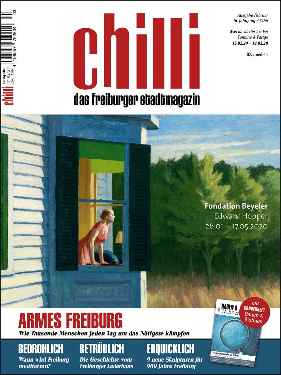 chilli Ausgabe Februar 2020 cover