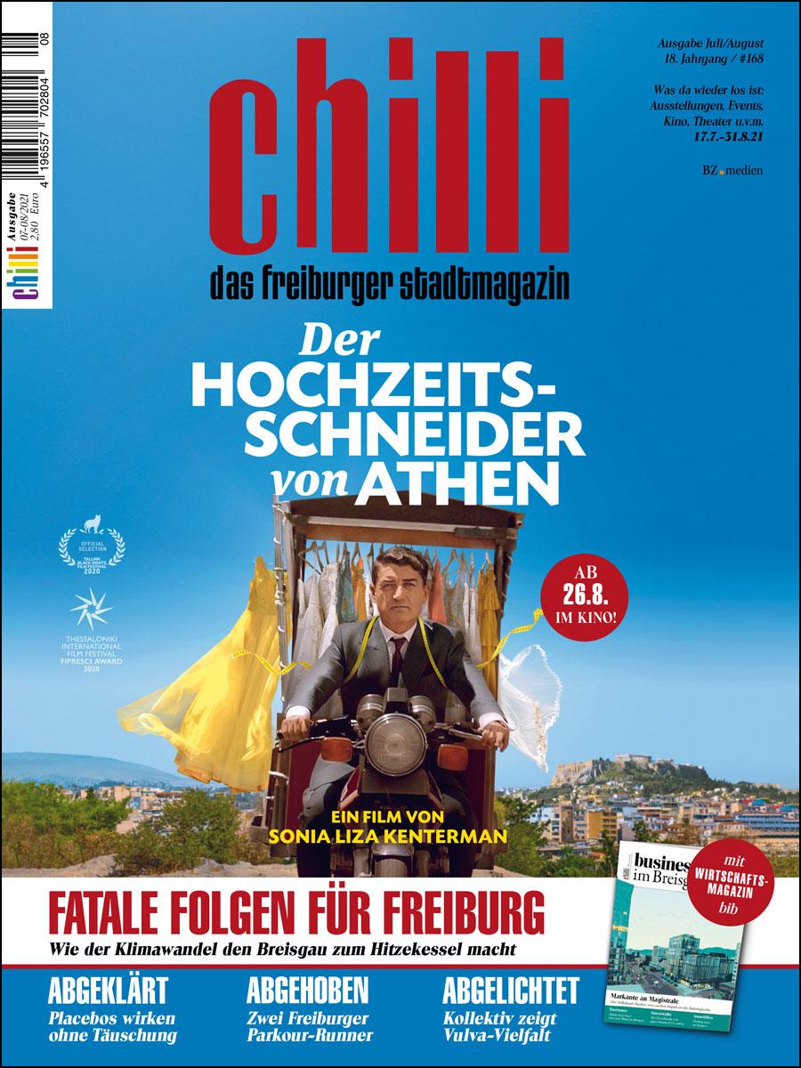 chilli Ausgabe Juli/August 2021 cover