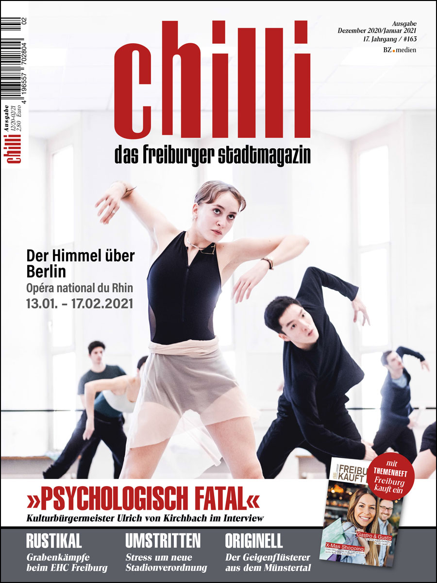 chilli Ausgabe Dezember 2020/Januar 2021 cover