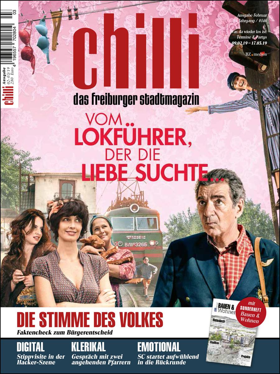 Cover chilli Magazin