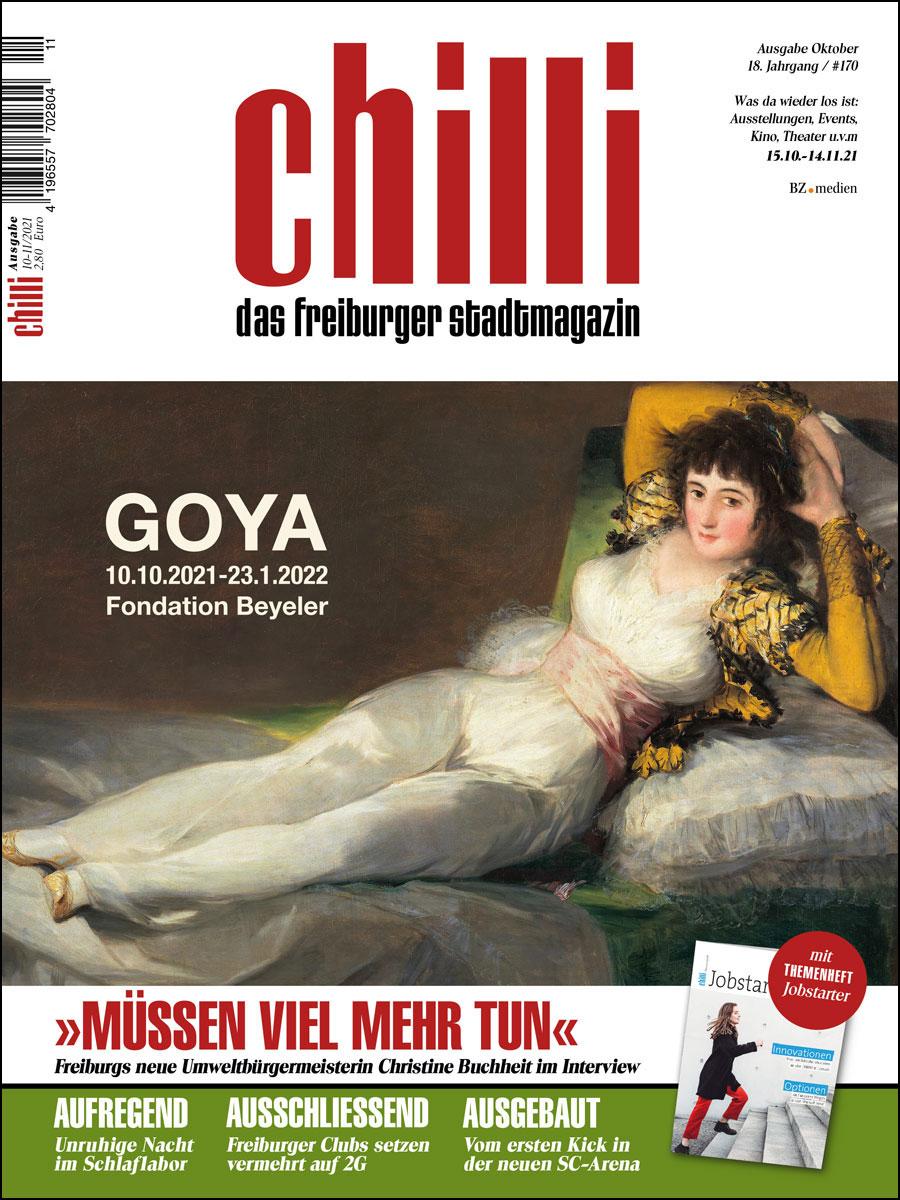 chilli Ausgabe Oktober 2021 cover