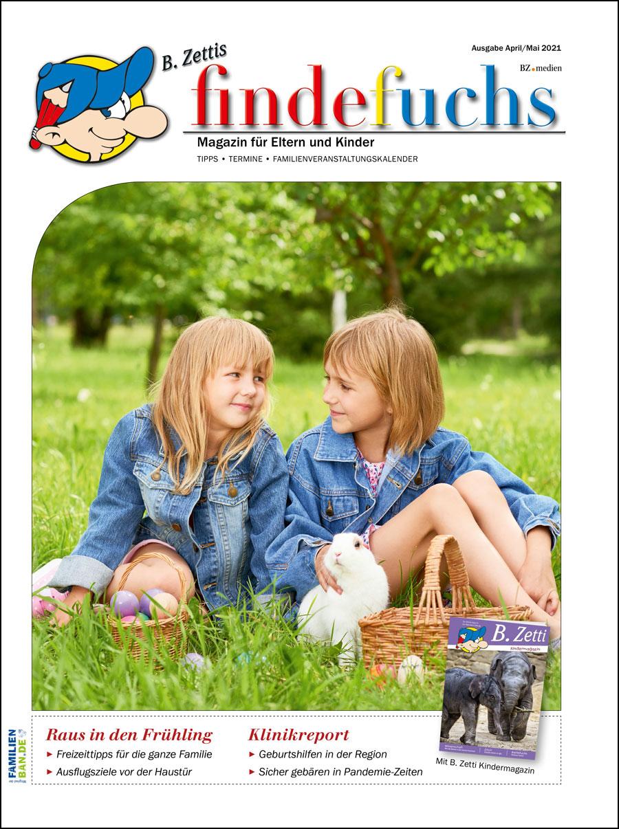 Cover findefuchs Ausgabe April/Mai 2021