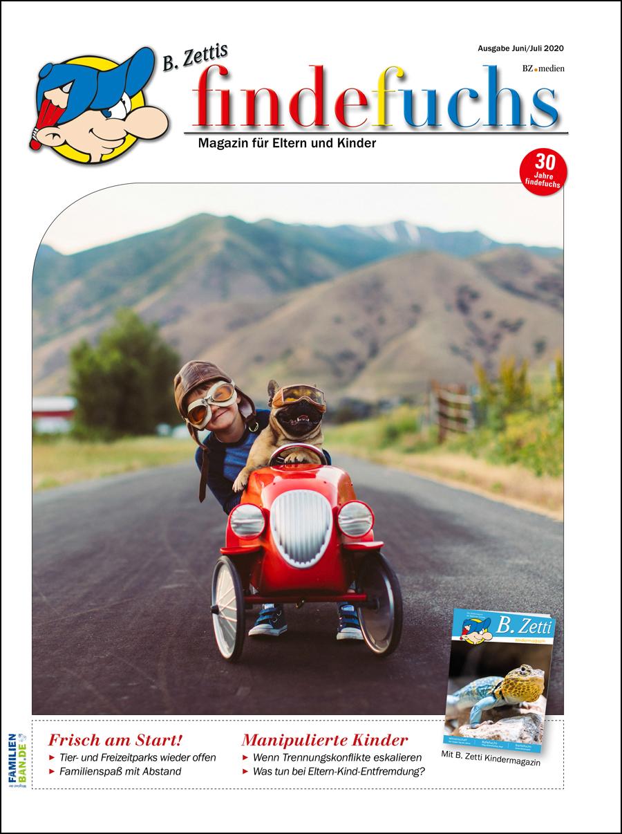 Cover findefuchs Juni/Juli 2020