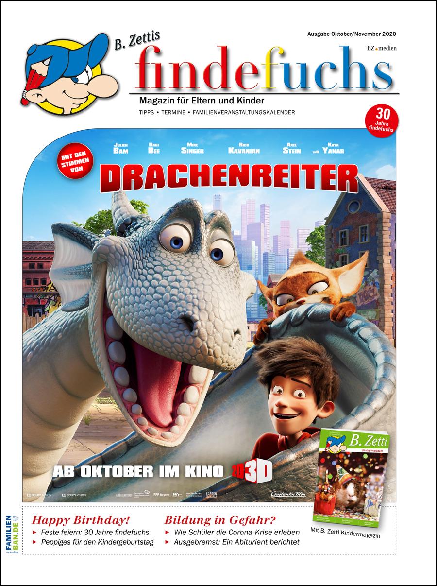 Cover findefuchs Oktober/November 2020