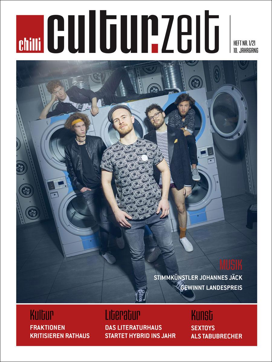 Culturzeit Ausgabe Februar 2021 cover