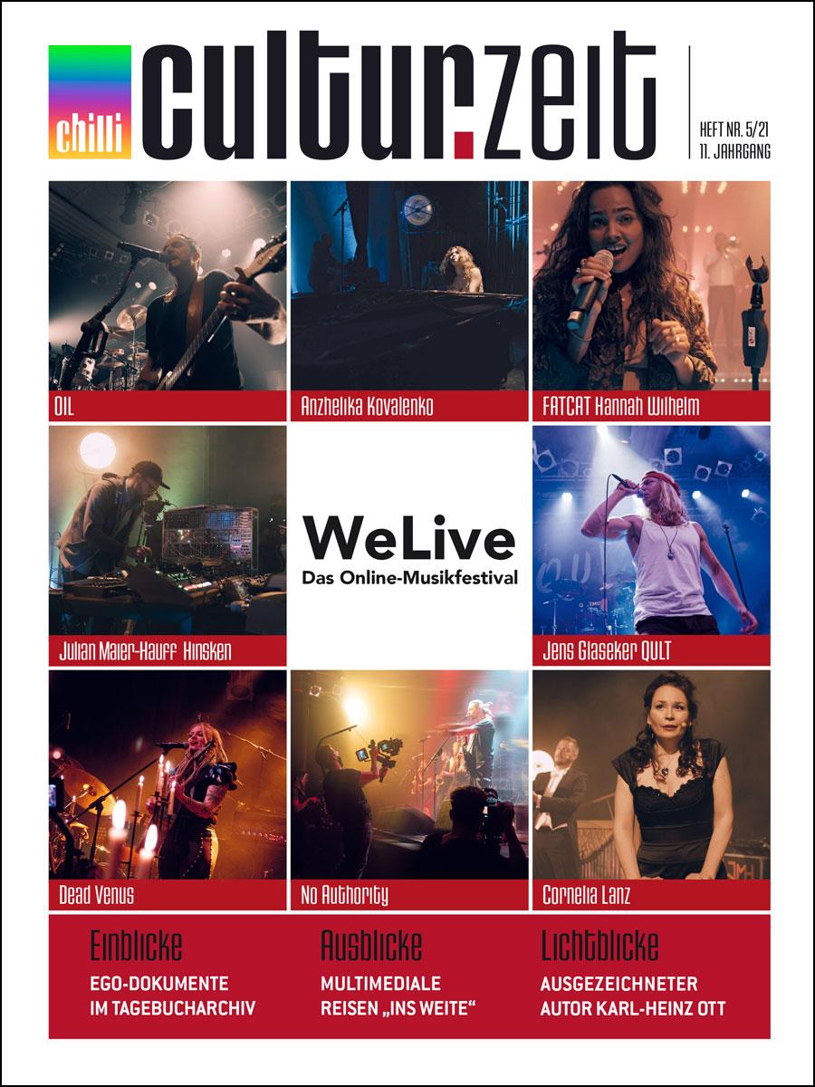 Culturzeit Ausgabe Juli/August 2021 cover