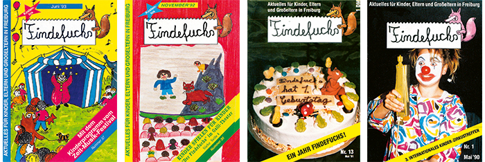 Cover findefuchs 1993-1990