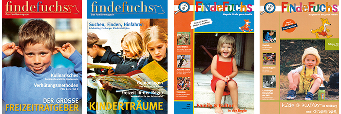 Cover findefuchs 2003-2000